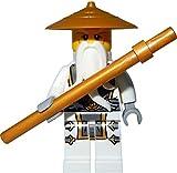 LEGO Ninjago Master Sensei Wu Ninja Dragon Minifigure NEW 2015 70734 by LEGO