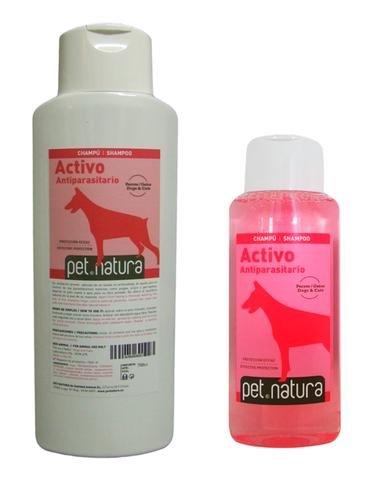 PetNatura Champú Activo Insecticida 750 ml. para Perros y Gatos