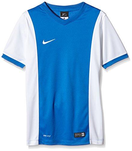 NIKE Short Sleeve Top YTH Park Derby Jersey Camisa De Mangas Cortas, Niños, Royalblu_Bianco, XL