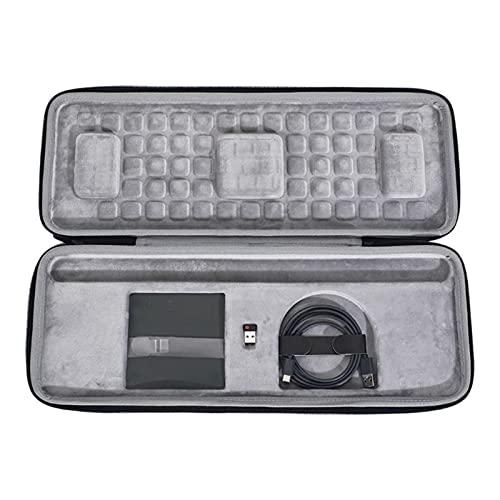 FSLLOVE FANGSHUILIN Hardcase Fit für L-Ogitech Craft Advanced Wireless Keyboard Travel Tragen Schutzaufbewahrungstasche