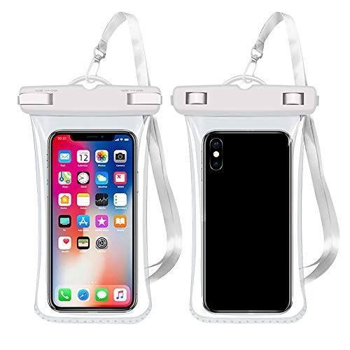 Custodia impermeabile galleggiante, custodia universale per telefono impermeabile con cordino per iPhone 11 Pro Max XS Max XR X 8 7 Plus 6s Galaxy S10 S9 S20 Ultra Note 9/10 fino a 6 pollici