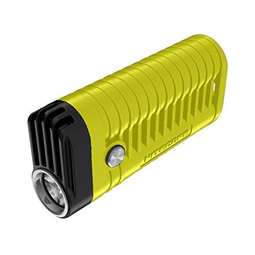 Nitecore MT22A gelb - 260 Lumen, Gehäuse aus PC-Material, 2 x AA Batterien