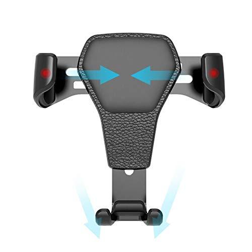 USNASLM Soporte universal para coche con gravedad para coche en salida de aire automático, para iPhone 12 Pro Xs