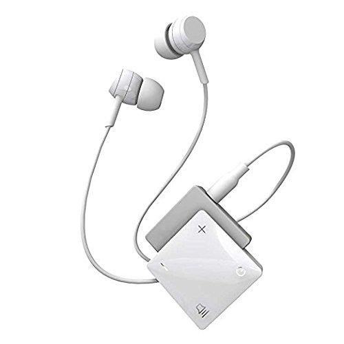 Ayuda auditiva amplificador auditivo externo digital de alta calidad, amplificador auditivo de diseño moderno y muy discreto, recargable, dispone de 2 programas