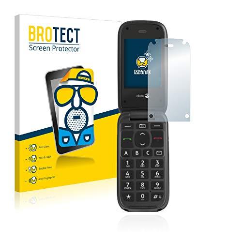 BROTECT 2X Entspiegelungs-Schutzfolie kompatibel mit Doro PhoneEasy 613 Bildschirmschutz-Folie Matt, Anti-Reflex, Anti-Fingerprint