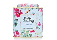 English Tea Shop Earl Grey Floral Tin Leaf Tea 85 g (Pack of 2)