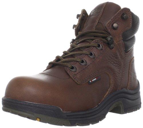 Timberland PRO Titan Women's 6 Inch Waterproof Work Boot Industrial, Brown, 8