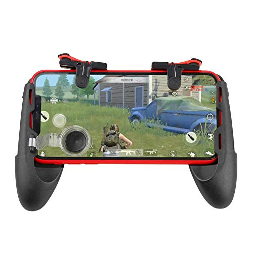 Chansted 3 in 1 Gamepad Controller Mobile Joystick Trigger Fire Shooting Button Key per PUBG Eat Chicken Gaming