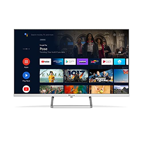 TD Systems K32DLX14GLE - Televisores Smart TV 32 Pulgadas HD Google Chromecast y HBBTV, 800 PCI Hz, 3X HDMI, 2X USB. DVB-T2/C/S2, Modo Hotel. Televisiones