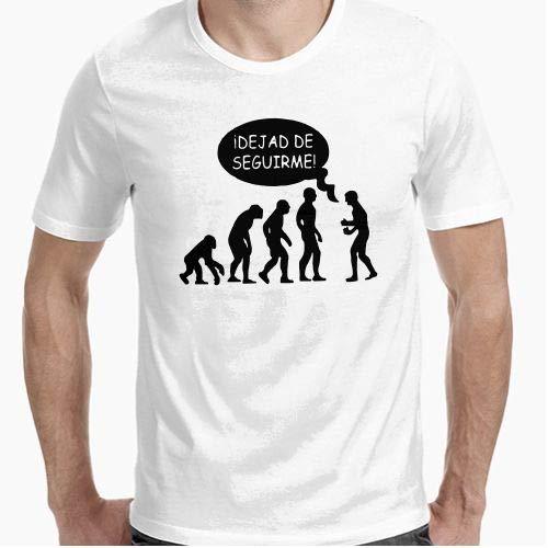 Positivos Camiseta Dejad de Seguirme - L