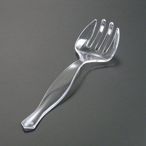 EMI Plastics 101 Clear Salad Serving Fork (Case of 144)