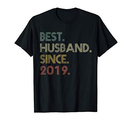 Mens Best Husband Since 2019 Epic 2nd Wedding Anniversary T-Shirt
