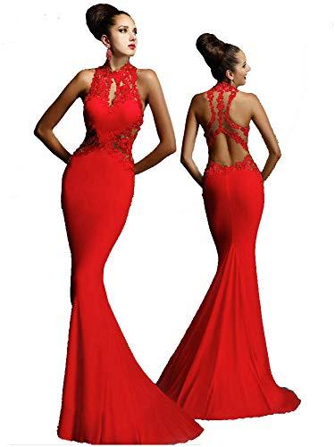 Vestido de mujer - Vestido largo y moderno - Ideal para fiestas,...