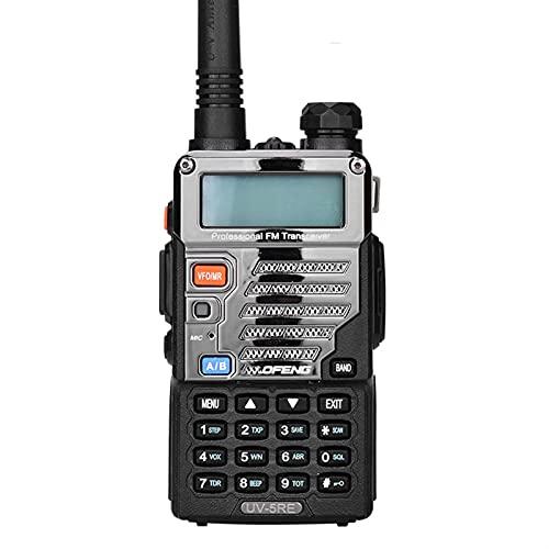 HJWL Walkie-Talkie A Due Bande Radio Bidirezionale CB Radio Communication 128CH VOX Inossidabile Shell Ham Radio Professionale Transceiver