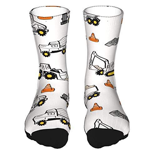 Calcetines deportivos de tela para mujer y hombre