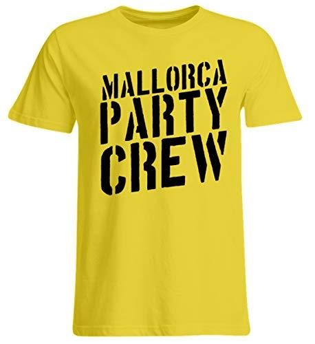 Mallorca Party Crew - Lustiges Saufen Feiern Sprüche T-Shirt für Partyurlaub auf Malle - Übergrößenshirt