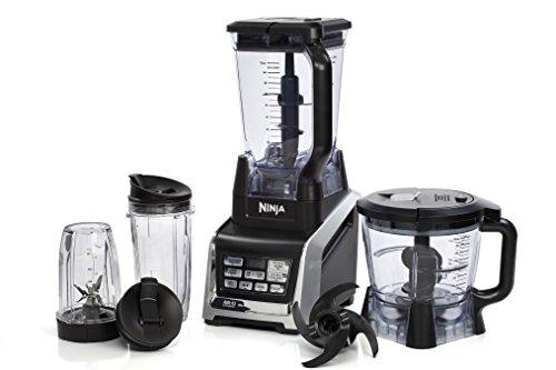 Ninja BL682 - Licuadora (Batidora de vaso, Negro, Plata, 1500 W, 444,5 mm, 4 pieza(s), Dough hooks)
