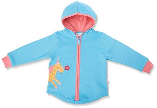 Kite Kite Baby-Mädchen Lulworth Hoody-BG525 Kapuzenpullover, Blue (Azure), 0-3 Monate