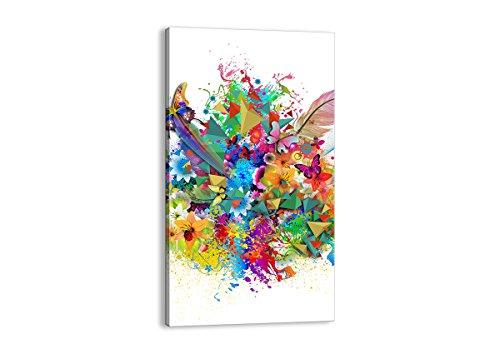 ARTTOR Stampe su Tela - Quadri Moderni Soggiorno e per Camera da Letto - Home Decor - Immagine in più Dimensioni - Various Graphic Themes - PA45x80-2840