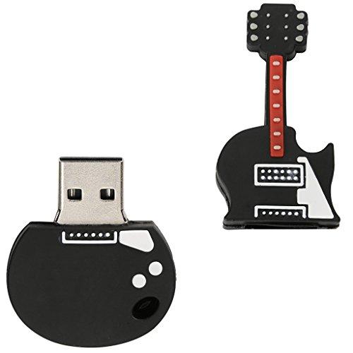MagiDeal Flash Drive en Forma de Guitarra Eléctrica USB 2,0 Memoria Compatibilidad...