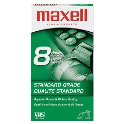 Maxell 10 Pack - Maxell T-160 Std Standard Grade Blank Videocassettes