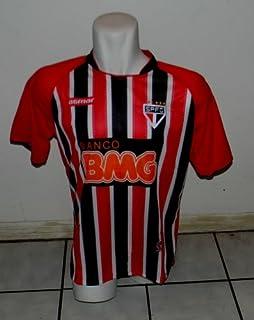 AGMAR SAO Paulo Brazil Soccer Jersey Brasil Size Large