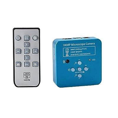 HAYEAR Full HD 34MP 2K 1080P HDMI USB Industrial Electronic Digital Video Microscope Camera for Phone CPU PCB Repair