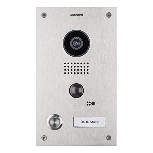 Bird Home Automation Group Terminal de videoportero con interfono DoorBird D202, 15 V, Plata