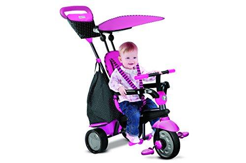 smarTrike Glow pink - Glow Touch Steering 4-in-1 Dreirad