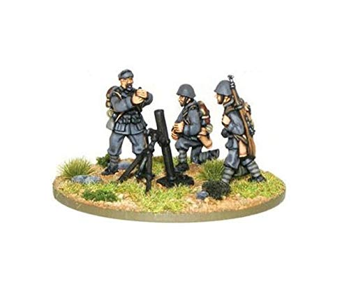 Medium Italian Army Mortar Team Miniatures