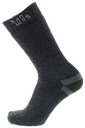 Hanwag Thermo Socken Asphalt/Dark Green Schuhgröße EU 39-41 2021