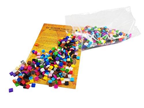 La Manufacture du Pixel - 900 carrés Pixels Multicolore - Pixel Art, Loisir Créatif, Mosaïque, Fun ! - Créez à l