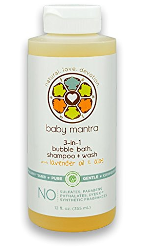 Baby Mantra 3-in-1 Bubble Bath, Shampoo and Body Wash