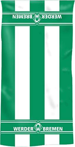 Werder Bremen Duschtuch Blockstreifen, 70/140 cm 100% Baumwolle Fanartikel