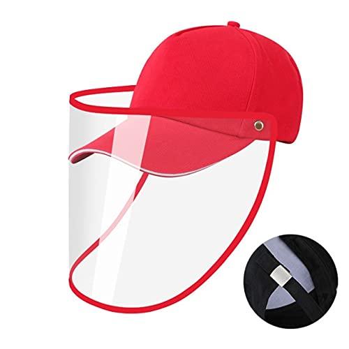 Shihuawu Sombrero para el Sol, Sombrero para Gafas con protección UV, Sombrero para el Sol de béisbol de ala Ancha para Mujer, Verano Informal unisex-D18-Talla única-G0069