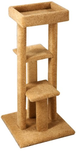 Pacific Pets Triple Platform Sleeper : Color TAN
