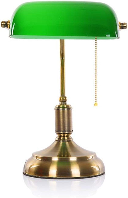 YS-FeiTeng tischlampe tischlampe Schlafzimmer nachttischlampe kreative Retro einfache Studie schlafsaal Studentin Auge tischlampe (Farbe   Gold)