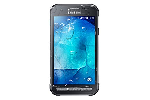Samsung Galaxy Xcover 3 Handy (4,5 Zoll (11,4 cm) Touch-Display, 8 GB Speicher, Android 4.4) dunkelsilber