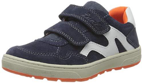 Lurchi Jungen Dominik Sneaker, Blau (Navy 42), 27 EU