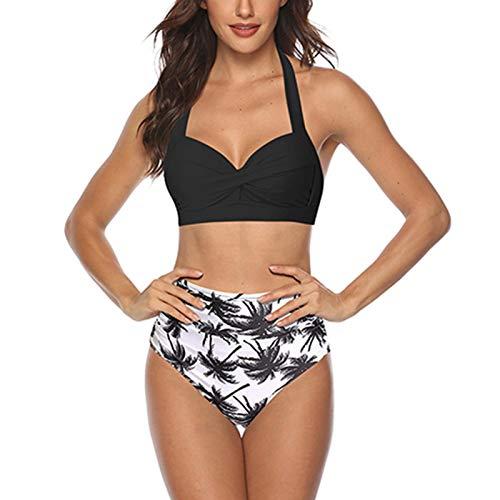 Uing Multifunktionaler Bikini Split Badeanzug Mit Hoher Taille Bauch Zweiteiliger Schwimmender WatenSportanzug Candid