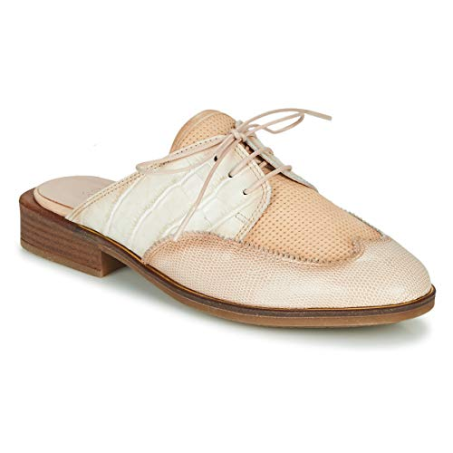 Hispanitas Londres Zuecos Mujeres Beige - 36 - Zuecos (Mules) Shoes