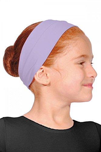 Roch Valley - Fascia per capelli in cotone, taglia unica, colore: lilla