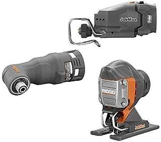 Ridgid Jobmax 3 Head Kit – Jig Saw, Reciprocating Saw, Impact Driver. R8223407-R8223412-R8223401 (Renewed)