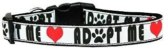 Mirage Pet Products Adopt Me Nylon Dog Collar, Medium
