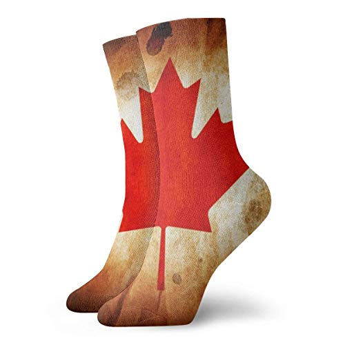 Kanada My Canada Unisex Fun Cool 3D-Druck Bunte Athletic Sport Neuheit Crew Tube Socken 30cm