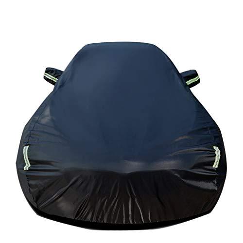 Autoabdeckung Kompatibel mit BMW 1er Allwetter-Schutz Auto Eingebaute Fussel Verdicken Wasserdicht Umfassende Außenverkleidungen UV-Schutz Automobile Auto-Außenüberdachungen Sonnenschutz Hitzeschutz S