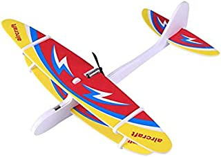 Beauenty Electric Hand Throwing Glider Plane Outdoor Park EPP Foam Electric Gliding Aircraft Flying Toys For Children Plan...