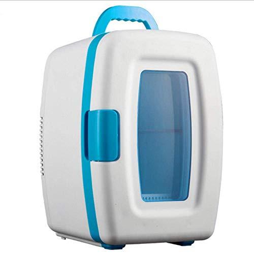 Slaapzaal tafelmodel koelkast for Mini Koelkasten 10L Liter huis Auto Dual-Use Car Koelkast Mini Kleine Koelkast Mini Box Cosmetische Koelkast-A ZHNGHENG (Color : A)