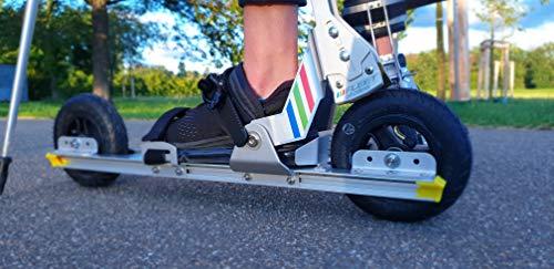 FLEET skates FS100-570 - Nordic Cross-Skates für Gelände und Off-Road geeignet - Inline Skate Alternative für Erwachsene