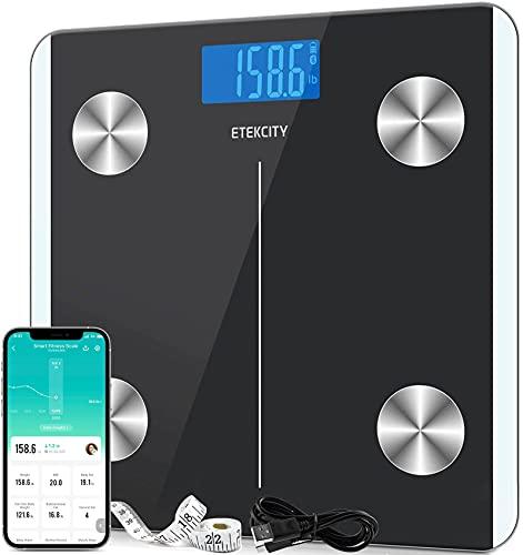 Báscula Grasa Corporal Bluetooth  marca Etekcity